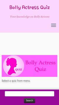 Bolly Actress Quiz poster
