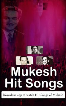 Mukesh Hit Songs screenshot 1
