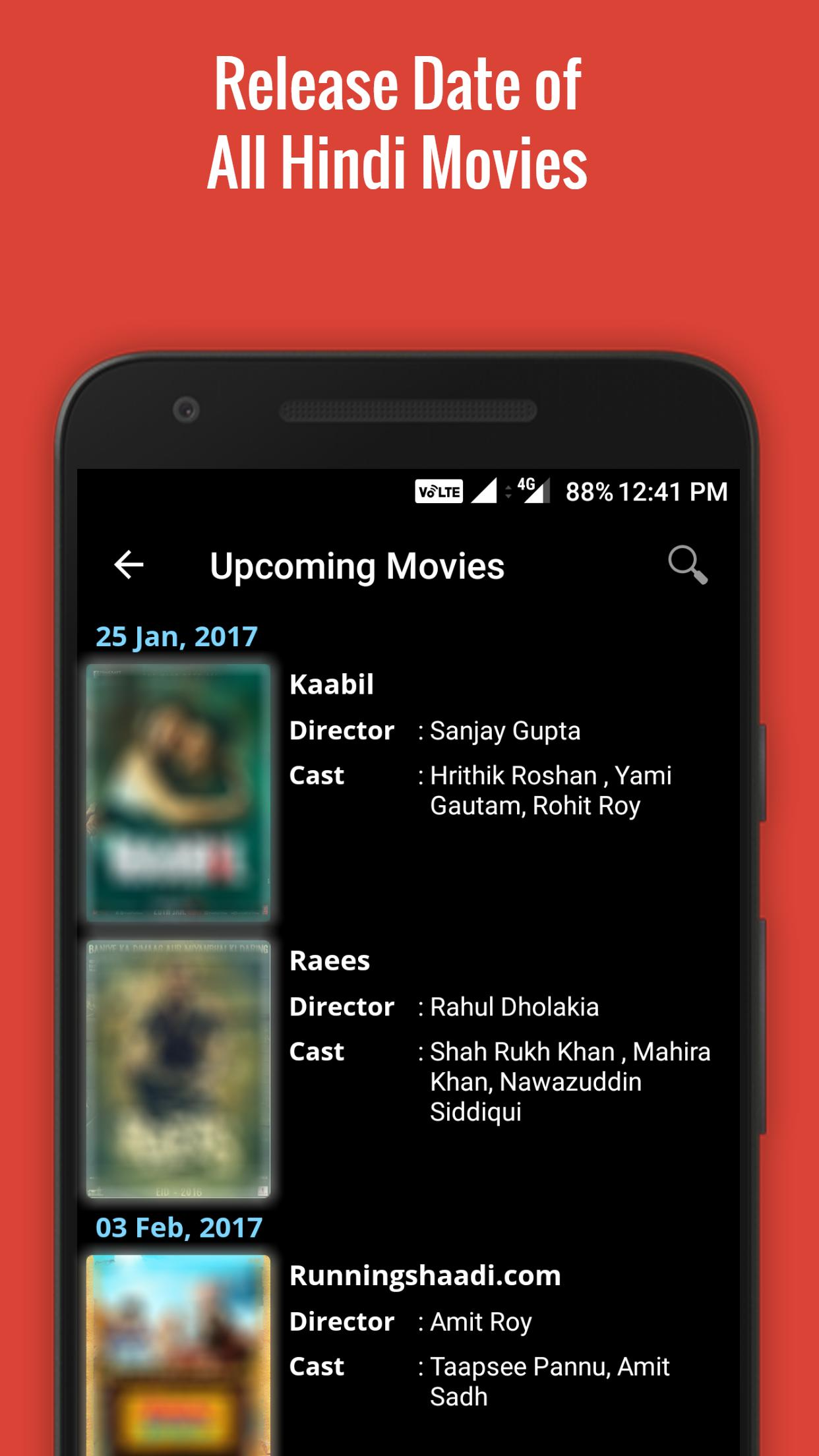 Upcoming Bollywood Movies for Android - APK Download