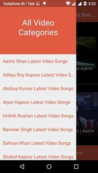 Bollywood Actors Hindi Video Songs HD screenshot 1