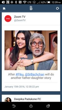BollyTwits apk screenshot