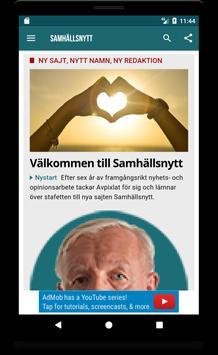 Samhällsnytt poster