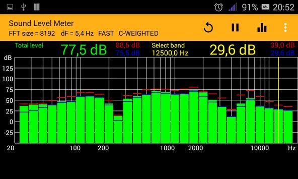 Sound Level Meter screenshot 1