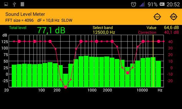 Sound Level Meter screenshot 2
