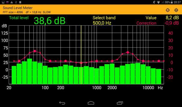 Sound Level Meter screenshot 3
