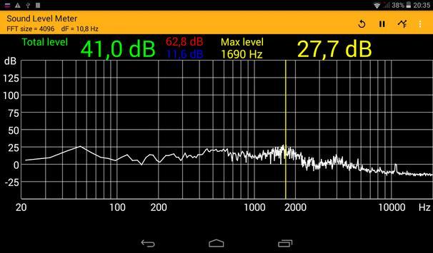 Sound Level Meter screenshot 5
