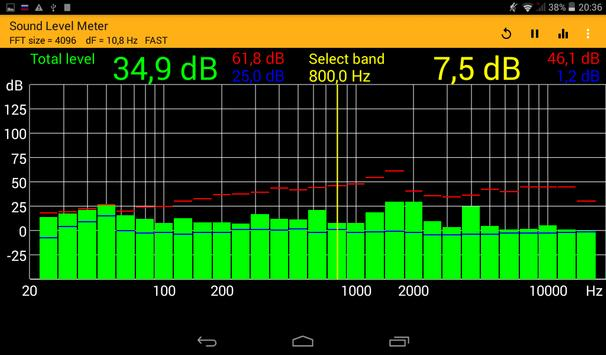 Sound Level Meter screenshot 8
