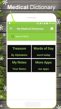 Medical and Drugs  Dictionary poster