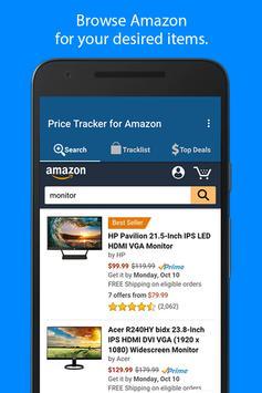 Poster Price Tracker per Amazon