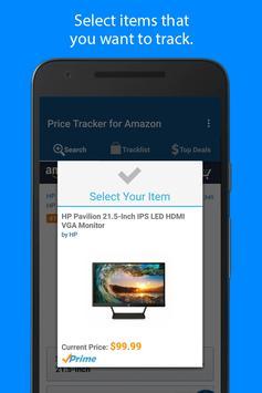 1 Schermata Price Tracker per Amazon