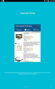 8 Schermata Price Tracker per Amazon