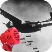 Bomber Attack Alarm Siren App icon