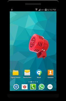 Bomber Attack Alarm Siren App apk screenshot