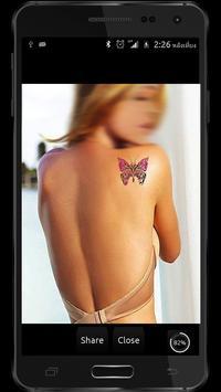 Camera Tattoo screenshot 2