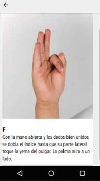 Lenguaje de Señas screenshot 3