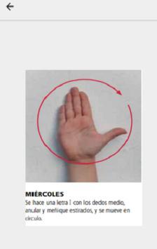 Lenguaje de Señas screenshot 4