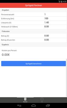 Spritgeld Rechner screenshot 6