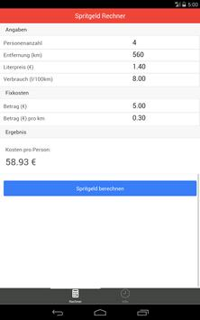 Spritgeld Rechner screenshot 7