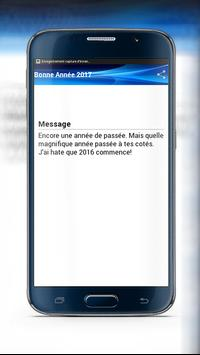 Top Messages Nouvel An 2017 screenshot 2