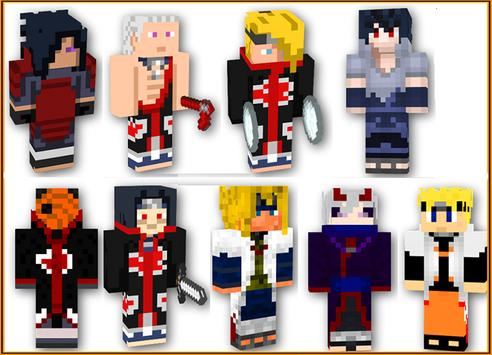 Mod Naruto For Minecraft Pe APK Download Free Arcade GAME For - Baixar skins para minecraft pe naruto