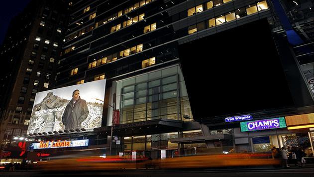 Billboard Photo Frame poster