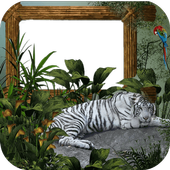 Wild Jungle Photo Frame icon