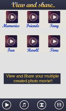 Photo Movie Maker apk screenshot