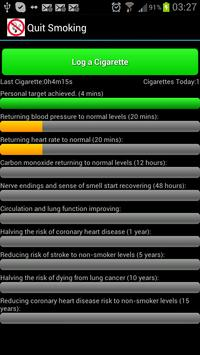 Quit Smoking Assistant apk screenshot