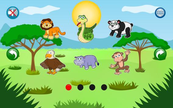Boncio Kids Puzzles: Animals Vol. 2 apk screenshot