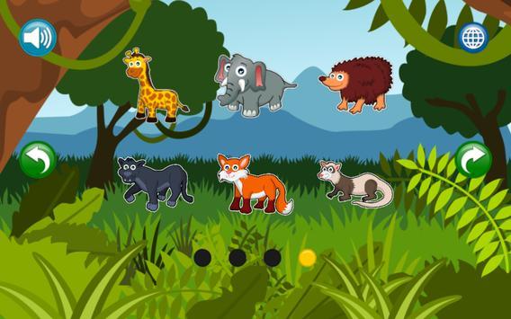 Boncio Kids Puzzles: Animals Vol. 2 screenshot 5