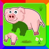 Boncio Kids Puzzles: Animals icon