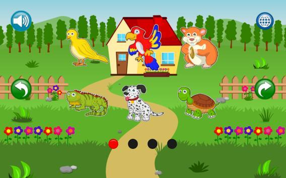 Boncio Kids Puzzles: Animals screenshot 5