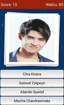 Kuis Tebak Artis Indonesia apk screenshot