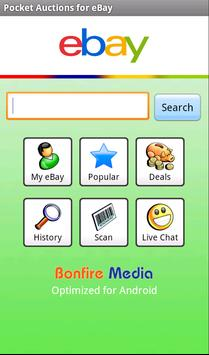 Pocket Auctions eBay poster