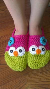 Crochet Slippers poster