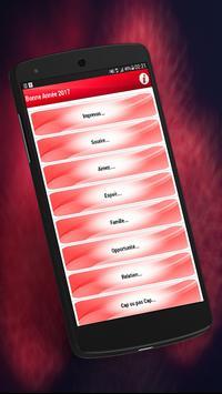 Top SMS Bonne  Année 2017 screenshot 1