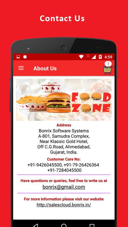 Food Zone-Online Food Order System for Android - APK Download