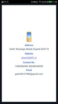 Gold1 Recharge screenshot 4