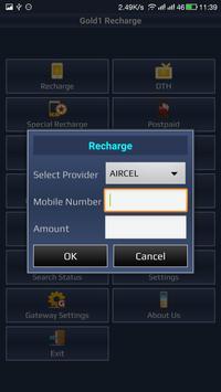Gold1 Recharge apk screenshot
