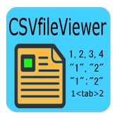 CSV File Viewer icon