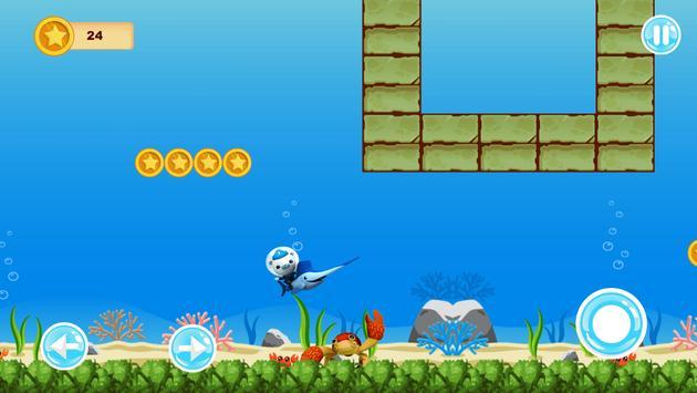 Octomauts Underwater Go screenshot 7