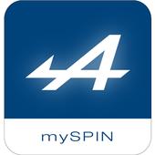 ALPINE mySPIN icon