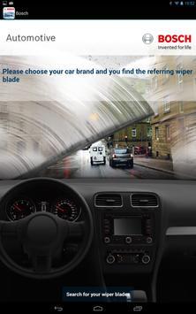 Bosch Wiper Blade App apk screenshot