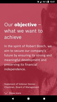 We are Bosch poster