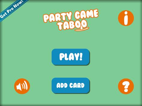 Party Game Taboo screenshot 6