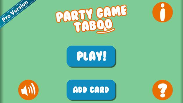 Party Game Taboo screenshot 11