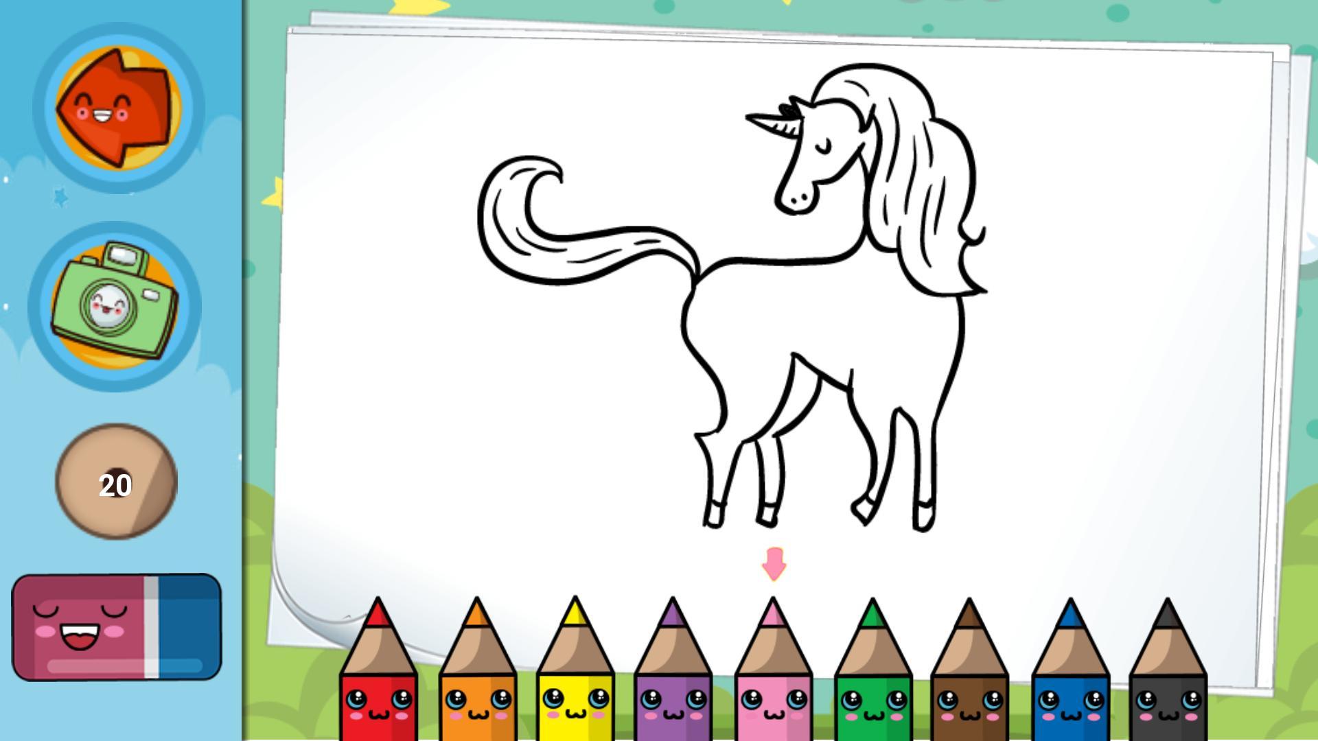 Unicornios Para Colorear Y Pintar For Android Apk Download