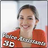 Mobile Assistant  3D Girl icon