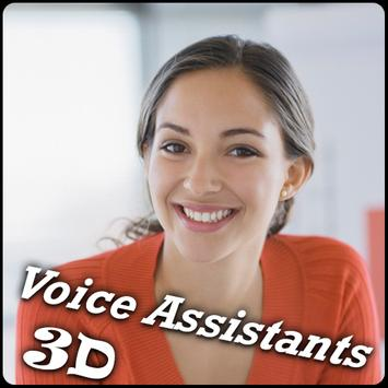 Mobile Assistant  3D Girl poster