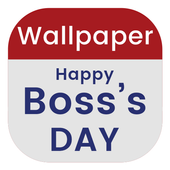 Happy Boss day Wallpaper icon